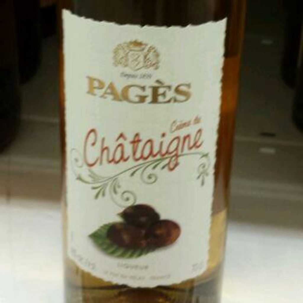 Pages creme de chataigne 15%vol 70cl