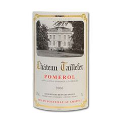 Chateau Taillefer Vin rouge - 13,50% vol - 2006