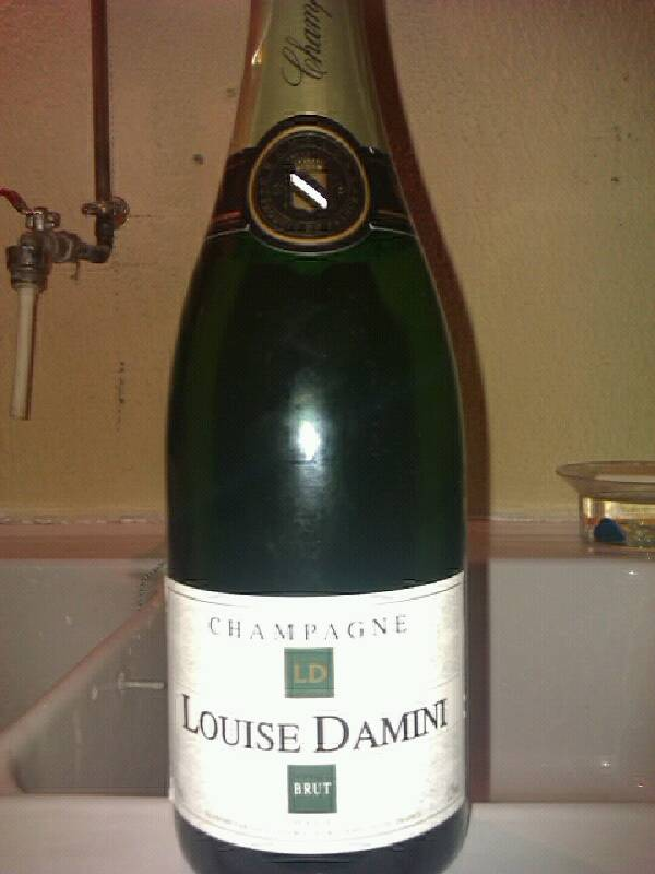 Champagne brut LOUISE DAMINI, 12°, 75cl