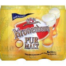 Bi re blonde kronenbourg pur malt sans alcoolpack 6 - Alcool a friction ou acheter ...
