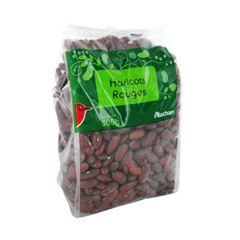 haricot rouge auchan 500g