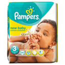 Pampers mid pack new baby midi x35 taille 3