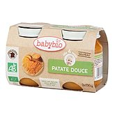 Petit pot Babybio Patate douce 260g