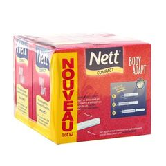 Nett tampons avec applicateur body adapt normal 2x20