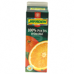 Jus d'orange Jafaden Pur 1l