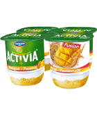 Activia lit mangue passion 4x125g