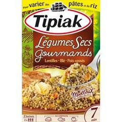 Tipiak legumes secs gourmands 2x165g