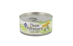 Thon Albarore à l'huile d'olive vierge extra 160g