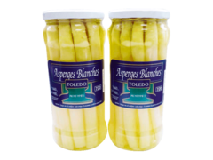 Asperges blanches moyennes 2x400g