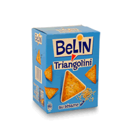 Crackers Triangolini - Biscuits aux graines de sesame et d'oeillette