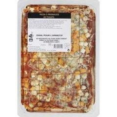 Bebe - Pizza 3 fromages en toast, les 30 toasts - 450g