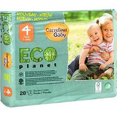 Couches Eco Planet, taille 4 : 7-18 kg