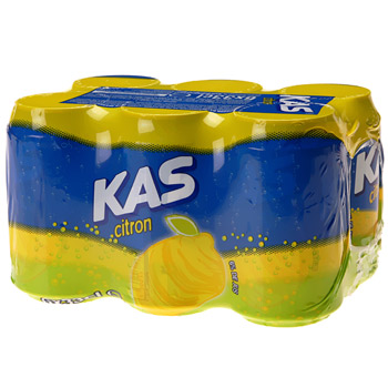 Kas citron, 6x33 cl
