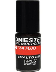 Layla Cosmetics Milano Vernis à Ongles One Step Gel Orange Fluo 5 ml