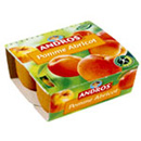 Andros compote pomme abricot 4x100g