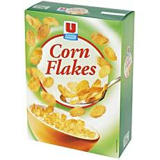 Corn-Flakes aux 8 vitamines + fer U, 375g