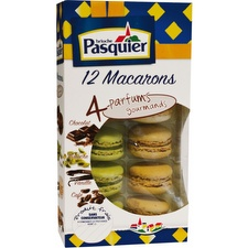 Macarons parfums gourmands
