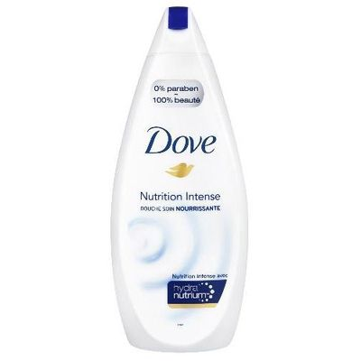 Gel douche nutrition intense DOVE, 750ml
