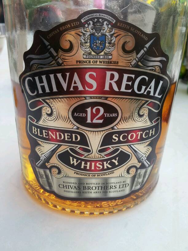 Whisky 12 ans Chivas Regal 40D 100cl