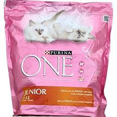 One chat junior poulet et cereales 1.5kg