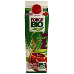 Force Bio pur jus d'orange sanguine frais 1l