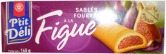 Biscuits sables P'tit Deli Figue 165g