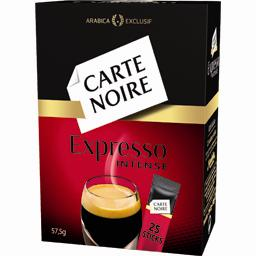 Carte noire, Cafe intense, le paquet de 57,7 gr