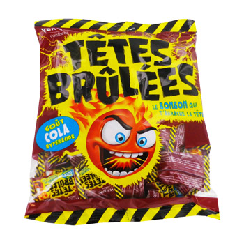 Verquin titoon's tetes brulees cola 135g