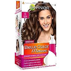 Garnier, Belle Color Mousse - Couleur permanente chatain fonce, la boite de 140ml