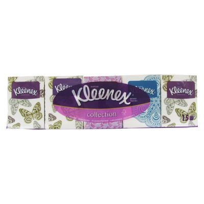 Kleenex, Mouchoirs en papier collection, la paquet de 15 etuis