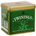 The vert Gunpowder Twinings Nature coffret metal 200g