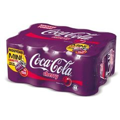 Coca-Cola Cherry mini-boites 12x15cl