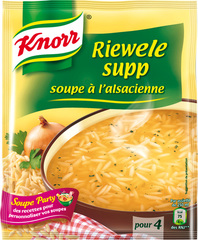 Soupe Knorr Riewele supp Deshydratee 112g