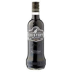 Vodka Black premium Eristoff