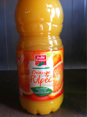 Jus d'Orange Pulpée PET 1l