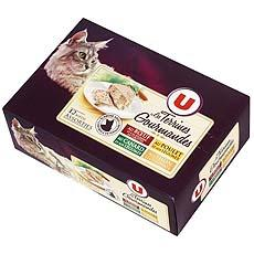Aliment pour chat Terrines Gourmandes U, 12x85g