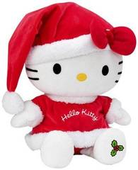 Peluche de Noel Hello Kitty