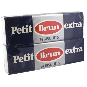 Petits bruns extra - 24 biscuits 2 x 150g