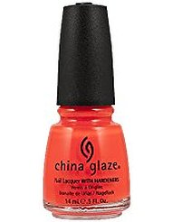 China Glaze Vernis à Ongles Effet Laqué Orange Knockout 14 ml