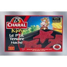 20 Steaks haches Le P'tit Tendre CHARAL, 500g