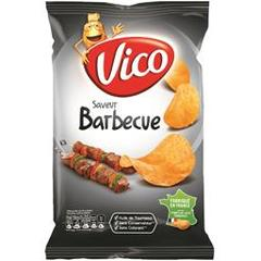 Vico Chips saveur barbecue le paquet de 120 g