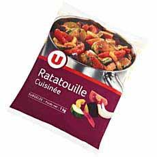 Ratatouille cuisinee U, 1kg