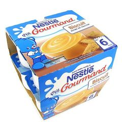 Nestle ptit gourmand biscuit 8x100g