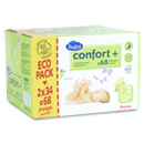 Auchan baby confort + pack change mini 3/6kg x68 taille 2