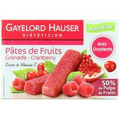 Gayelord hauser pate fruits grenade cranberry 125g