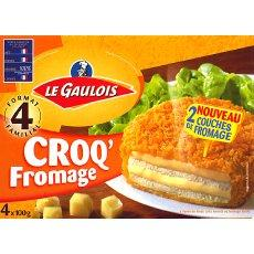 Croqs fromage Le Gaulois etui x4 400g