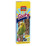 Riga sticky aux fruits pour perruches