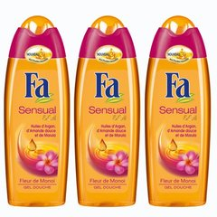 Fa, Sensual & Oil - Gel douche Fleur de Monoi, le flacon de 250 ml