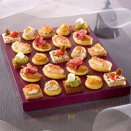 35 canapes elegance plateau de 35 canapes tous les produits pains biscuits casher halal. Black Bedroom Furniture Sets. Home Design Ideas