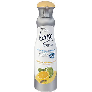 Brise aerosol Refresh'air Agrumes givres 275ml